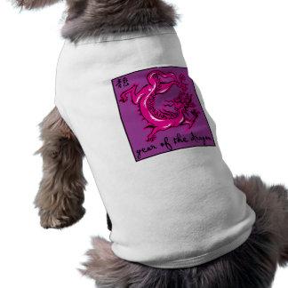 Año del dragón ropa para mascota