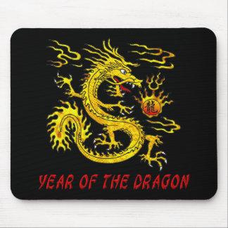 Año del dragón tapetes de ratón