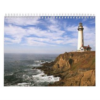 año del faro calendarios