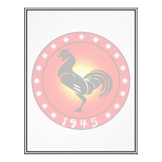 """Año del gallo 1945 folleto 8.5"""" x 11"""""""