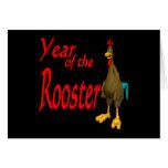 Año del gallo felicitación