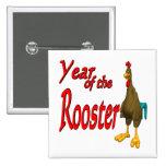 Año del gallo pin