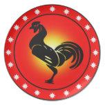 Año del gallo platos para fiestas
