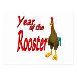 Año del gallo postal