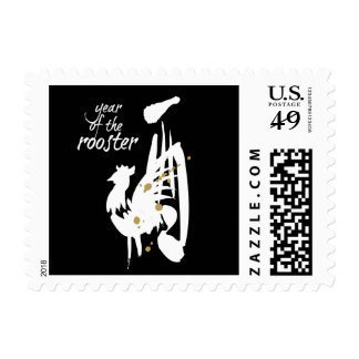 Año del gallo - zodiaco chino sello