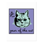 Año del gato postal