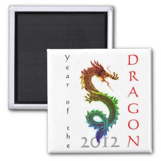 Año del imán 2012 del dragón