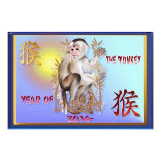 Año del Monkey-2016 Fotografia