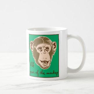 Año del mono taza