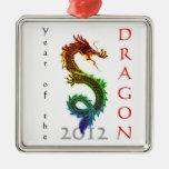 Año del ornamento del dragón 2012