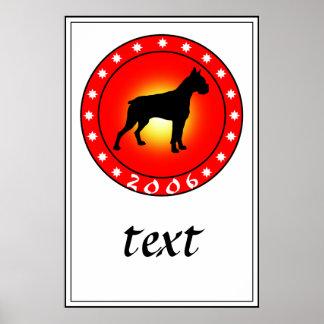 Año del perro 2006 poster