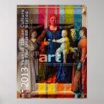 Año del poster del arte de Italia de cultura itali