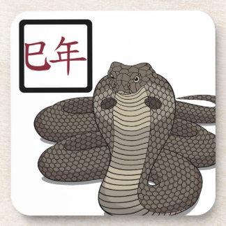 Año del práctico de costa del corcho de la serpien posavasos