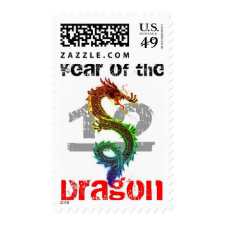 Año del sello 2012 del dragón