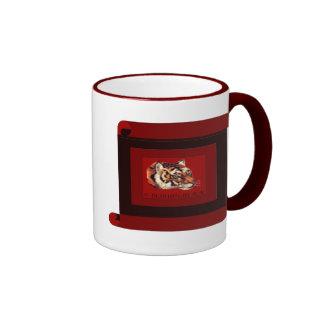 Año del tigre 2010 tazas de café