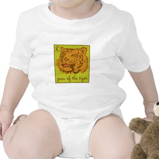 Año del tigre camiseta