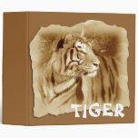 Año del tigre/de la apariencia vintage