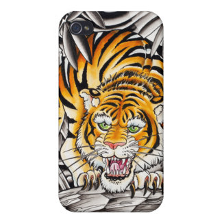 """Año del tigre "" iPhone 4 Coberturas"