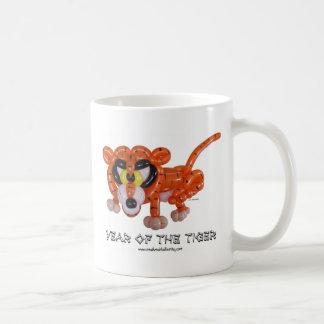 Año del tigre taza de café