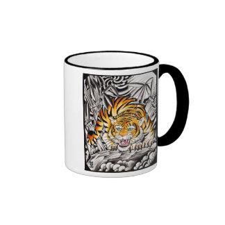 """""""Año del tigre """" Taza De Dos Colores"""