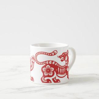 """""""Año del tigre """" Taza Espresso"""