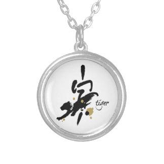 Año del tigre - zodiaco chino pendiente personalizado