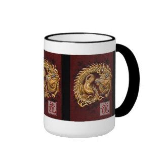 Año del zodiaco de Chiense de la taza del dragón