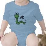 Año divertido de la serpiente traje de bebé