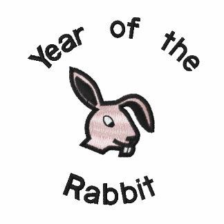 Año dulce de la camiseta del conejo