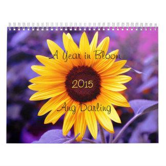 año en calendario de la floración