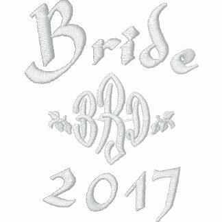 Año en curso de la novia - con sus iniciales
