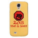 Año feliz del calendario del chino de la serpiente