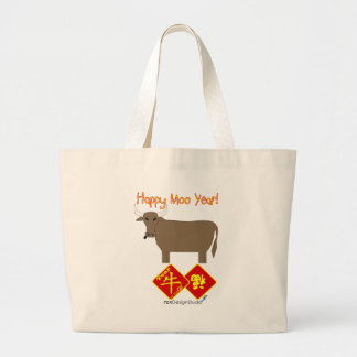 Año feliz del MOO Bolsas
