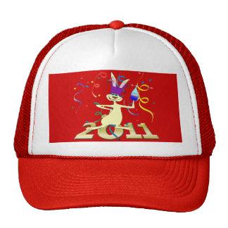 Ano hace a Coelho 2011 años del fiesta del conejo Gorras De Camionero