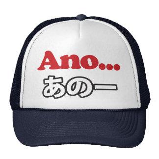 Ano... (Japanese for Umm...I Was Thinking) Trucker Hat