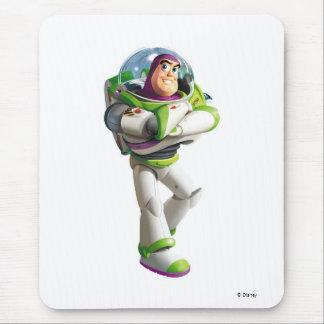 Año ligero del zumbido de Toy Story que se coloca  Alfombrilla De Raton