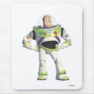 Año ligero del zumbido de Toy Story Alfombrillas De Raton