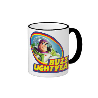Año ligero del zumbido de Toy Story Tazas