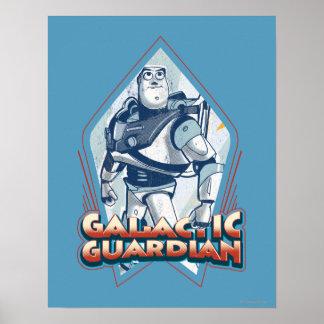 Año ligero del zumbido Guarda de Gallactic Poster