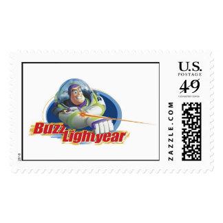 Año ligero del zumbido sello postal
