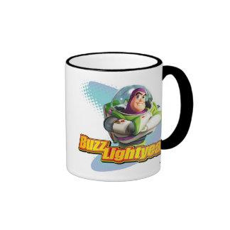 Año ligero del zumbido taza de café