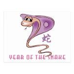 Año lindo de la serpiente