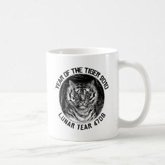 Año lunar 4708 años del tigre 2010 taza