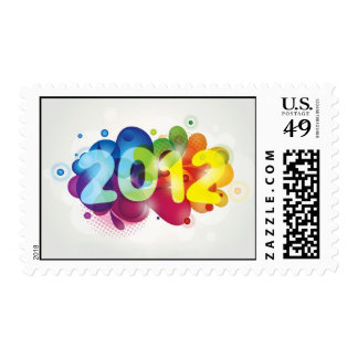 Año Nuevo 2012 Sellos Postales