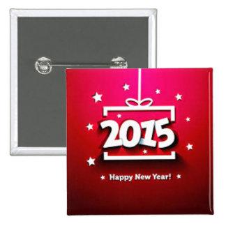 Año Nuevo 2015 Pins