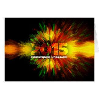 Año Nuevo 2015 Tarjeta De Felicitación