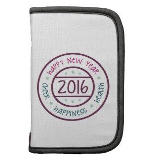 Año Nuevo 2016 Planificador