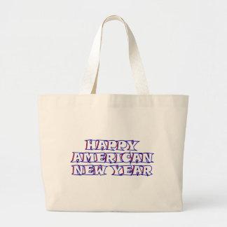 Año Nuevo americano feliz Bolsa