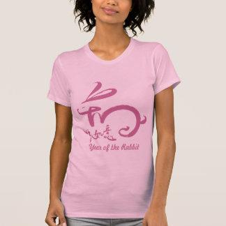 Año Nuevo chino 2011 - año del conejo (rosa) Camisetas