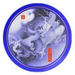 Año Nuevo chino 2012 (año del dragón) Plato